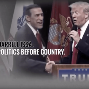 UPDATED W/Trump Love: Let's Turn Darrell Issa's Birthday Party into a Retirement Celebration