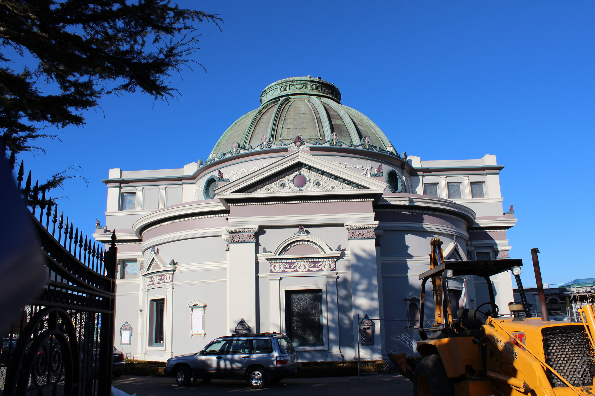 a report from a visit to the san francisco cemetery The vaults will be cemented to a slab in the back of the cemetery for people to visit ___ information from:  report finds 'worrisome  why the san francisco.