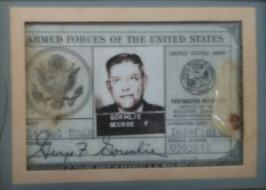 Military ID for Lt Col George F Gormlie