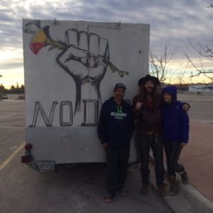 Standing Rock Thanksgiving Pilgrimage – A First Hand Account