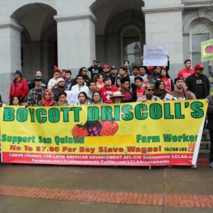ChangeFest Speakers Rally for Driscoll's Boycott, Against Domestic Violence & for Fracking Ban