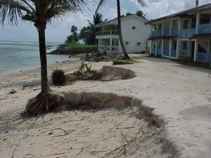 Sandy Beach in 1999; Kosrae, Micronesia