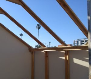 Volunteers Raise High the Roof Beams for Emergency, Very Affordable Housing in San Diego