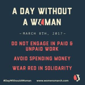 A Day Without A Woman: SDFP Goes Dark
