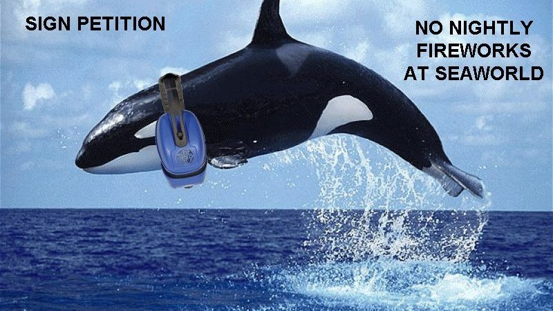 SeaWorld Ends Summertime Fireworks
