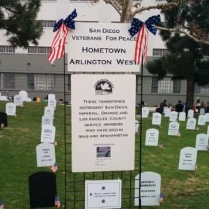 San Diego Veterans for Peace Memorial Day Observance